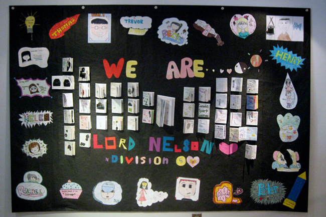 Lord Nelson Grade 5 & 6 Students Ask: Who Are We?